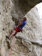 Rock Climbing Photo: SteveZ in send mode