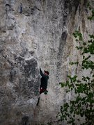 Rock Climbing Photo: Satermo sending