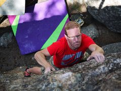 Rock Climbing Photo: Good problem.  Photo Baker