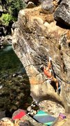 Rock Climbing Photo: summer 2015, low enough water in late June! such a...