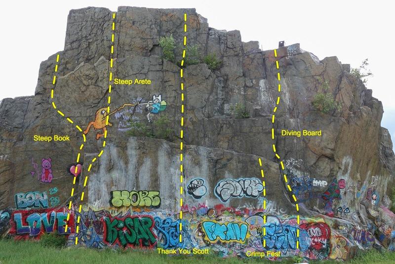 Q Wall topo - center.