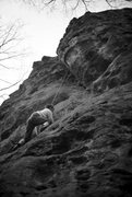 Rock Climbing Photo: Royal Robbins climbing George's sometime after his...