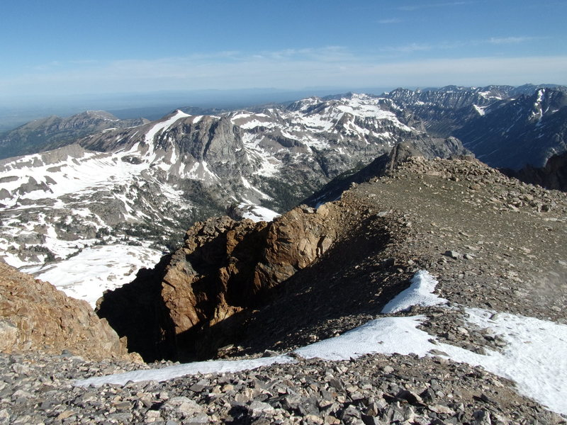 Rock Climbing Photo: Hurricane Pass Area - 6/20