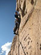Rock Climbing Photo: Where Mountain Goats dare!!