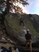 Rock Climbing Photo: Watch out for that last step, it's a doozy. Photo:...