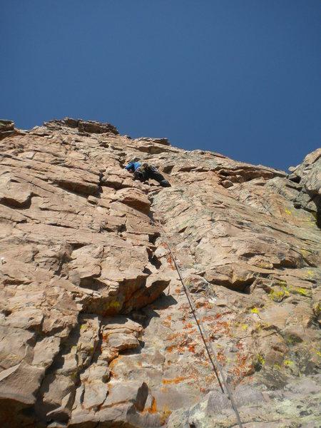 Rock Climbing Photo: It begins
