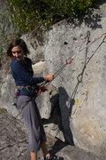 Rock Climbing Photo: aaaannd back down it is
