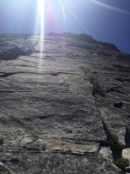 Rock Climbing Photo: Deception base