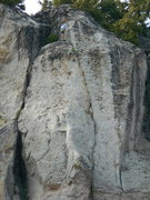 Rock Climbing Photo: Nothing Special is the dark pod on the left. The c...