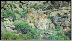 Rock Climbing Photo: Meet The Heat problem beta.