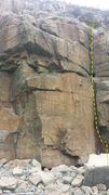 Rock Climbing Photo: A few tense moments