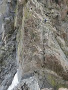 Rock Climbing Photo: In 2012, heading from North Palisade to Polemonium...
