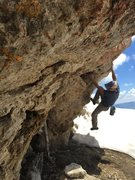 Rock Climbing Photo: Looking for a heel