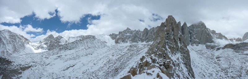 Rock Climbing Photo: Wonderful view from Muir to Whitney