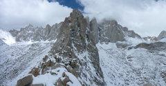 Rock Climbing Photo: Muir to Whitney