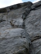 Rock Climbing Photo: Two Japanese ladies at the little roof.  Both look...