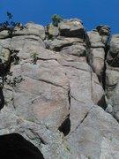 Rock Climbing Photo: Route 166 & Rawhide.