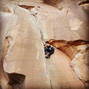 Climbing at Potash Rd