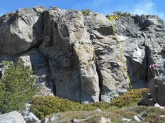 Rock Climbing Photo: Bowling Ball Right
