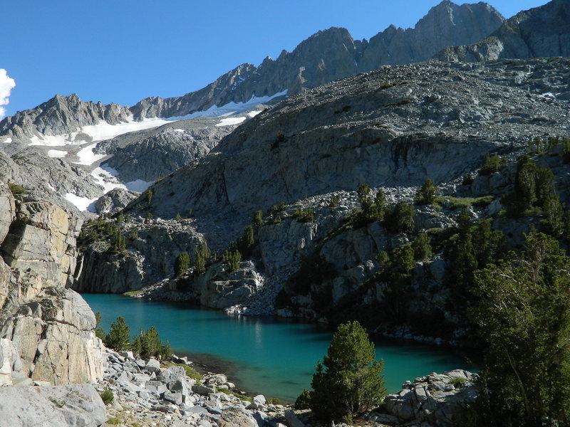 Rock Climbing Photo: Finger Lake at noon.