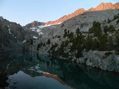 Rock Climbing Photo: Finger Lake in the still morning.