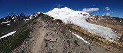 Rock Climbing Photo: Mount Baker and the railroad grade