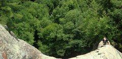 Rock Climbing Photo: Nice exposed position