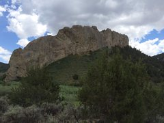 Rock Climbing Photo: Another crag outside cave lake