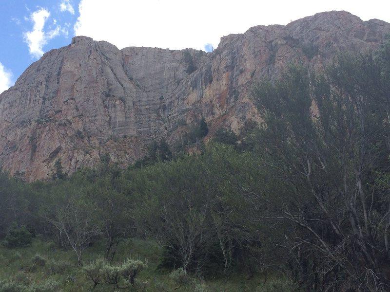 Rock Climbing Photo: Limestone everywhere