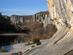 Rock Climbing Photo: Ardèche