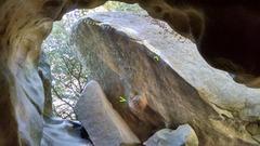 Rock Climbing Photo: Duct tape