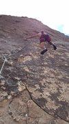 Rock Climbing Photo: Excellent line!