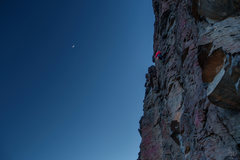 Rock Climbing Photo: Last call