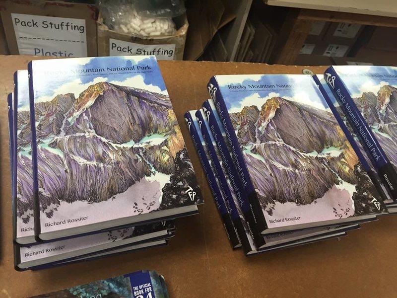 Rock Climbing Photo: RMNP guidebook.