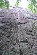 "Rock Climbing Photo: The route ""Resurrection"""