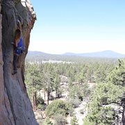 Rock Climbing Photo: Chaps my Hide at Holcomb Valley Pinnacles