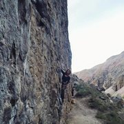 Rock Climbing Photo: Great Wall of China, Owens River Gorge!