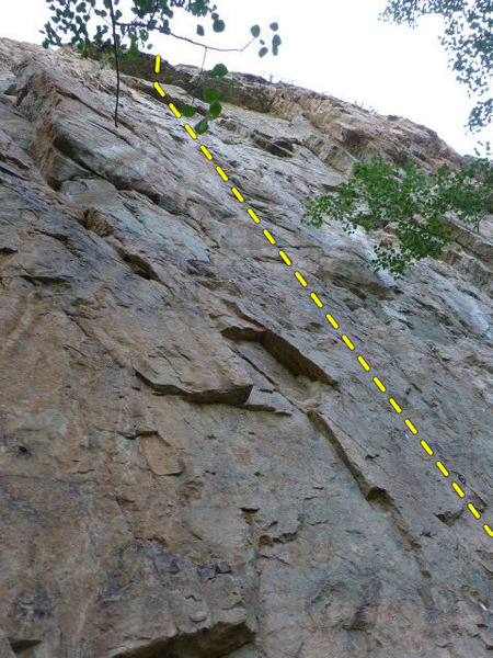 Rock Climbing Photo: Grassy Knoll.