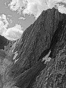 Rock Climbing Photo: Mount Morrison from the summit of Torre De Mierda.