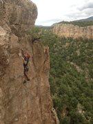 Rock Climbing Photo: Contest Wall, The Dune, finishing