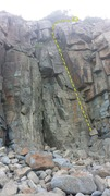 Rock Climbing Photo: Impending Doom Dihedral