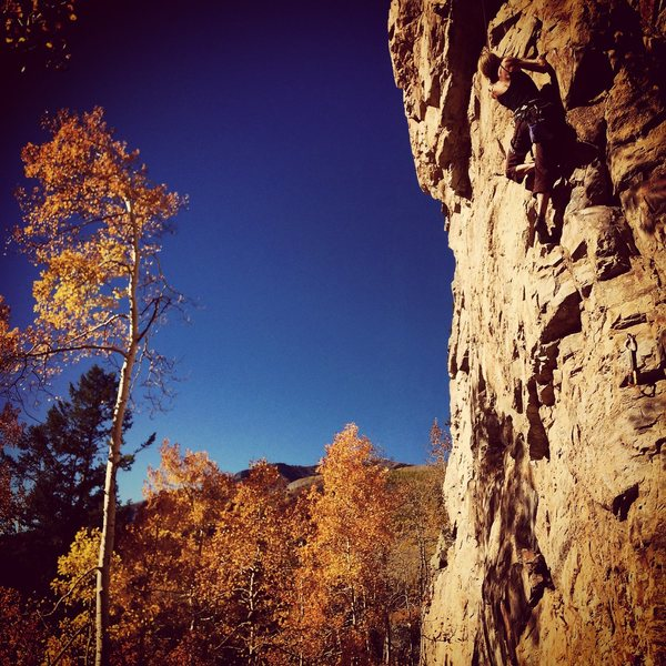 Rock Climbing Photo: Mo Hannle on Town Conspiracy.