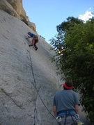 Rock Climbing Photo: Hackattack's very first time on the Green A!