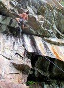 Rock Climbing Photo: The dropknee