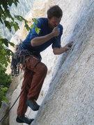 Rock Climbing Photo: steady......steady....