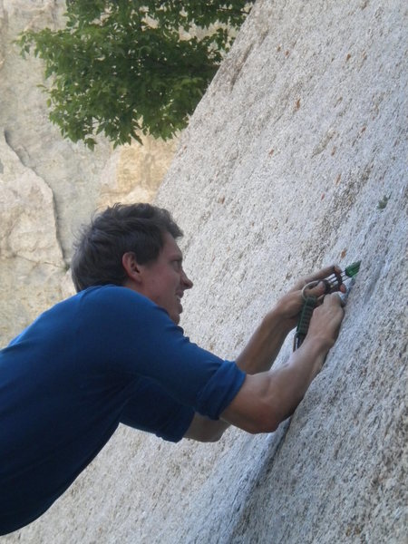 Rock Climbing Photo: A green C3 might as well be a #6 at times