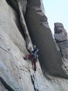 Rock Climbing Photo: Starting into the biz