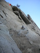 Rock Climbing Photo: Behold the route in all its splendor! (X=Chains)