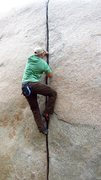 Rock Climbing Photo: Robbins Crack