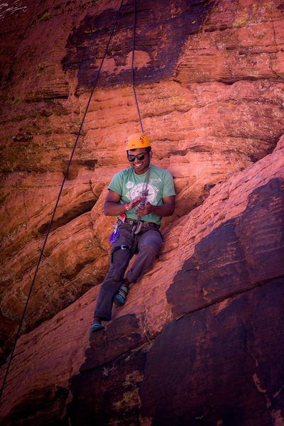 Rock Climbing Photo: Red Rock Rendezvous